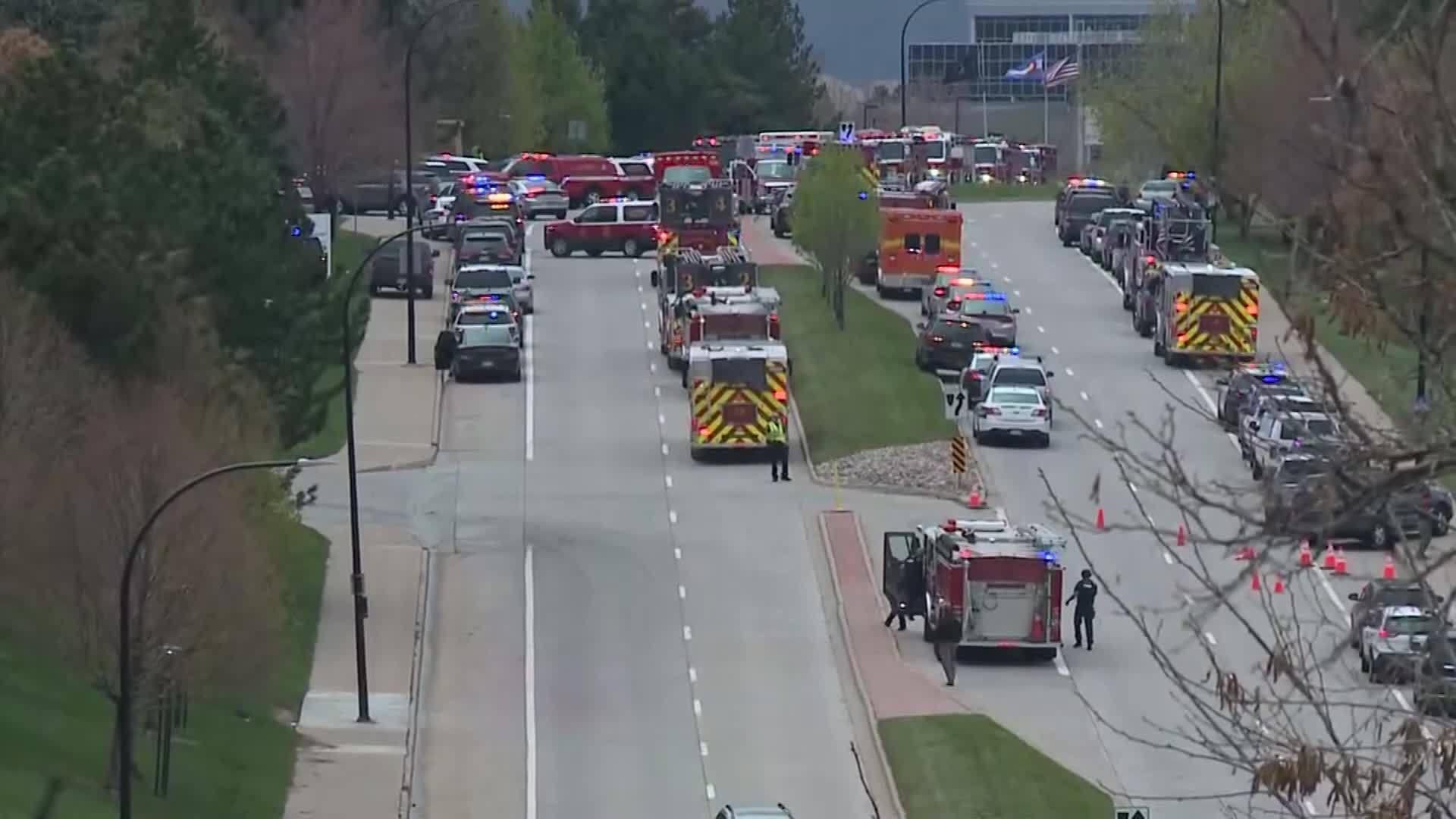 Multiple injuries in Colorado school shooting