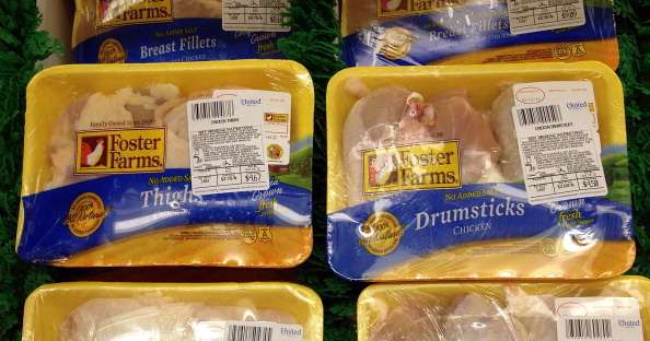 foster farms raw uncooked chicken