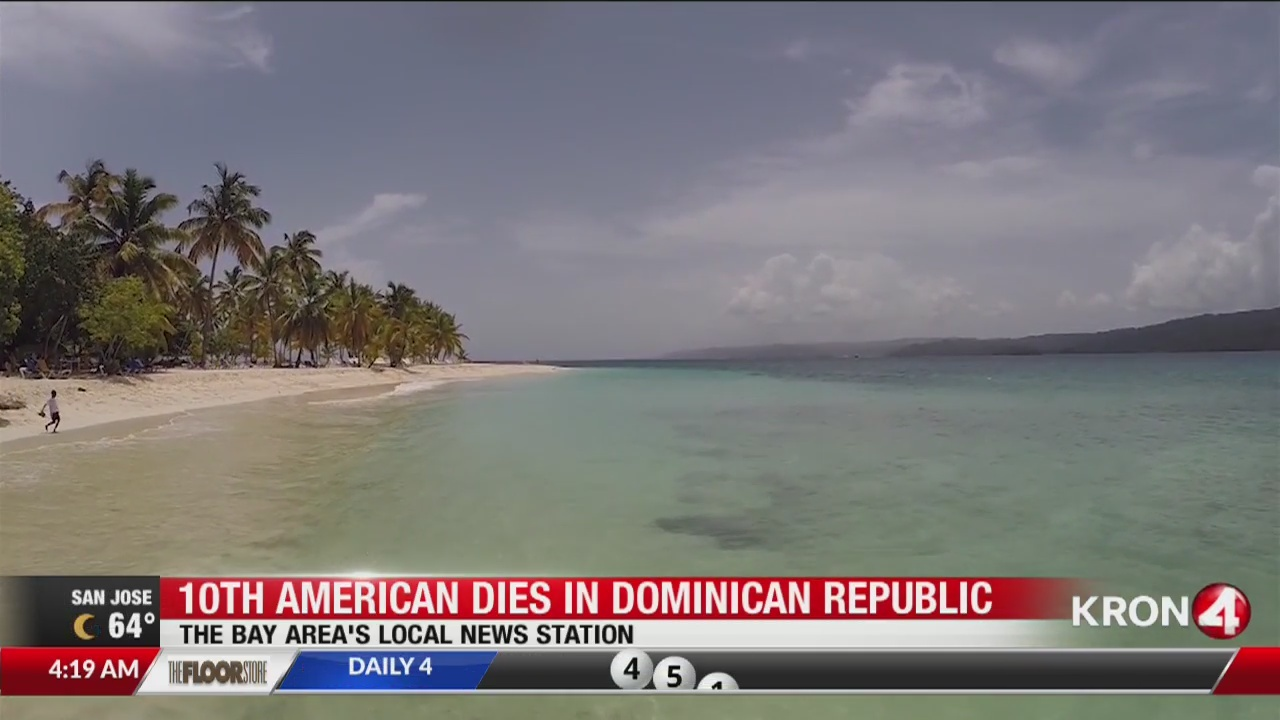 10th American dies in Dominican Republic