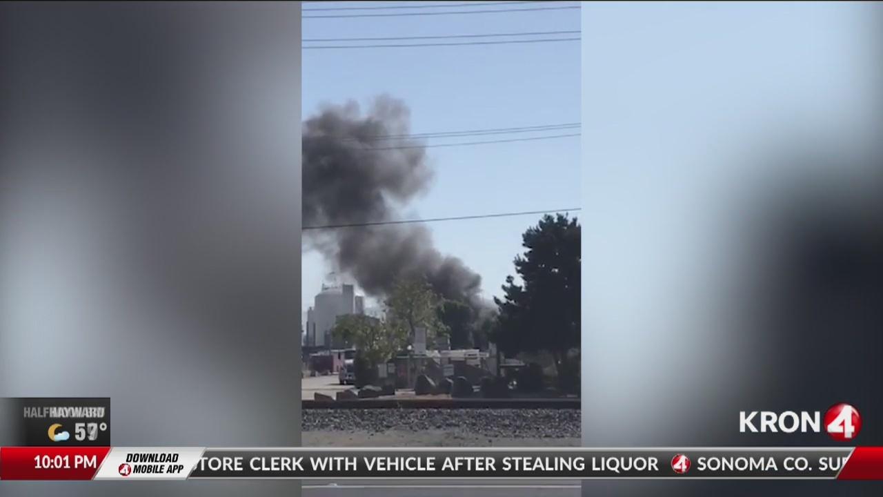 Explosion, fire at Santa Clara chemical plant