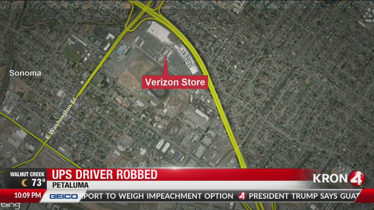3 suspects who robbed ups driver