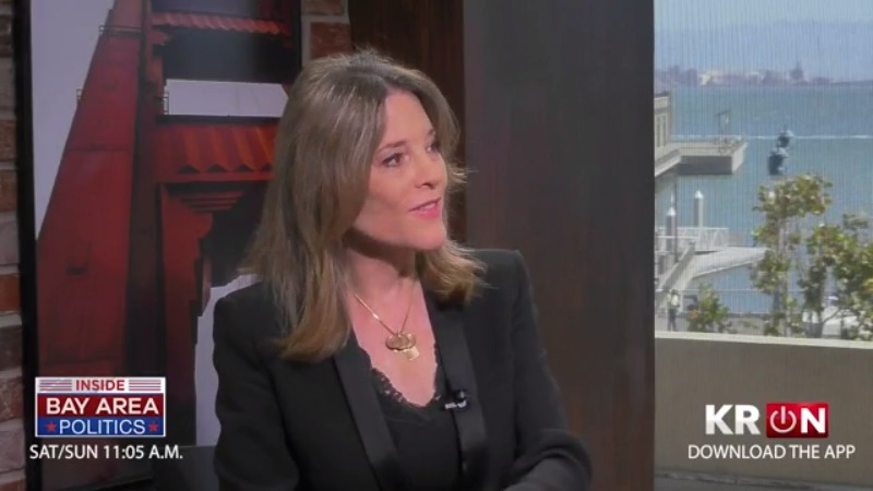 Presidential hopeful Marianne Williamson clears up remarks on debates, vaccinations