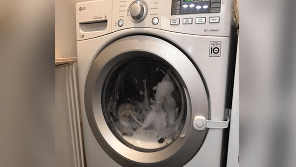 Toddler dies after becoming trapped in washing machine | KRON4