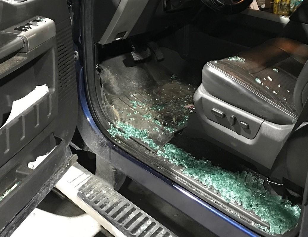 Highway 101 victim's vehicle