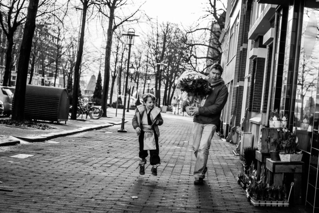 Noordereiland Rotterdam zwart wit 4