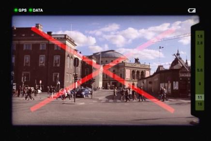 Camera Restricta: over een camera die weigert cliché foto's te maken