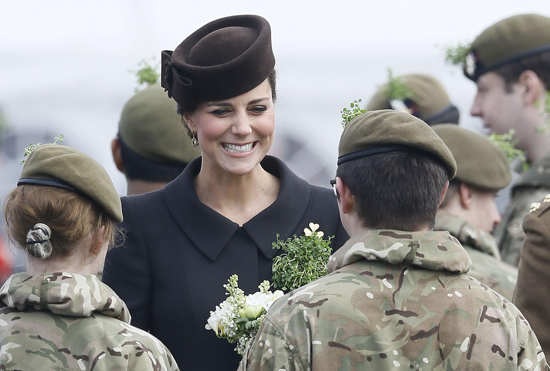 Britain Royal St Patricks Day Parade_110238