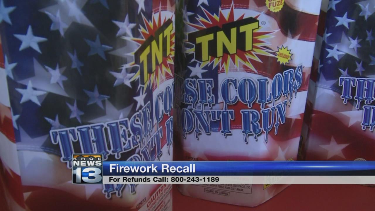 Firework recall_624644