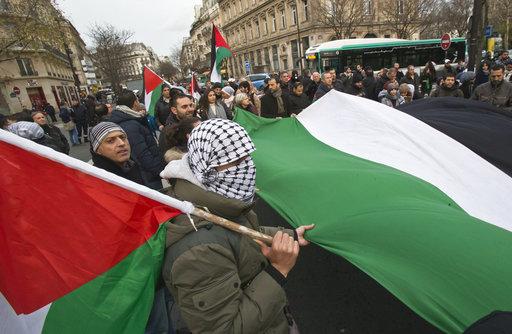 France Jerusalem Protest_750987