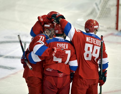 Pyeongchang Olympics Russian Red Machine_790786