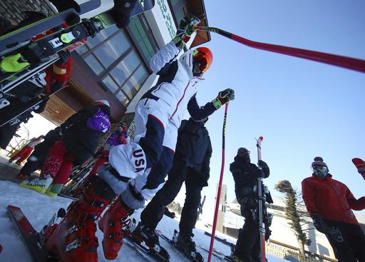 Pyeongchang Olympics Alpine Skiing_791923
