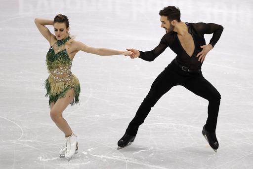 Pyeongchang Olympics Figure Skating Ice Dance_797262