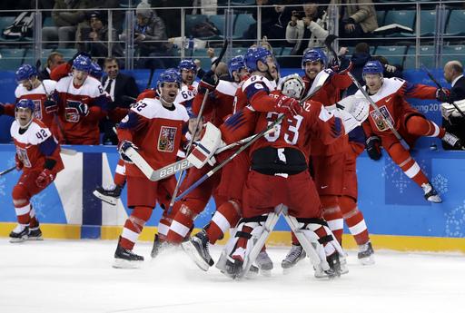APTOPIX Pyeongchang Olympics Ice Hockey Men_799149