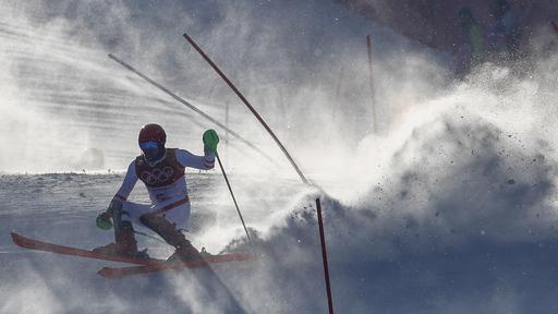 Pyeongchang Olympics Alpine Skiing_799774