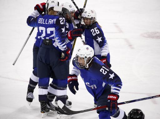 Pyeongchang Olympics Ice Hockey Women_799875