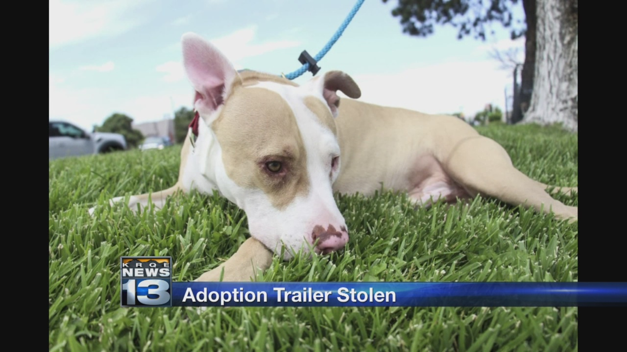 Mobile adoptions trailer stolen from local animal rescue group_1530851105629.jpg.jpg