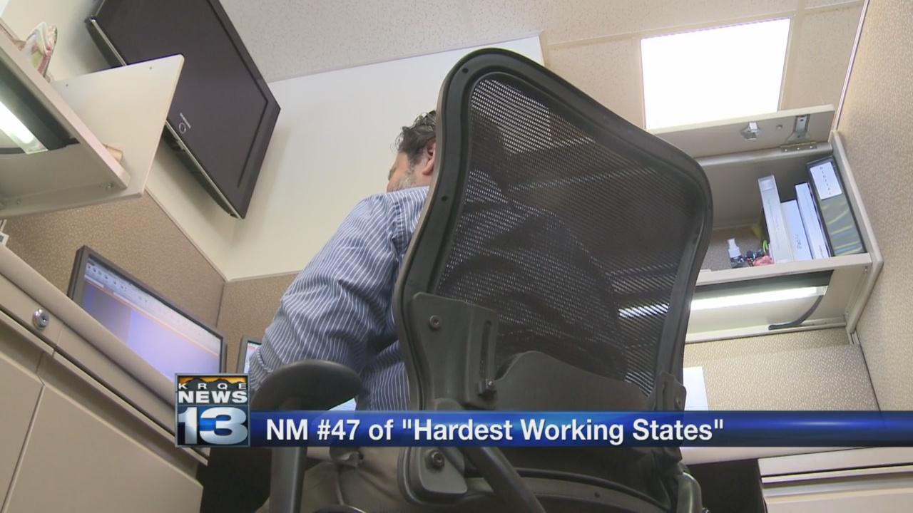 Report ranks New Mexico low on 'hardest-working states' list_1535496880824.jpg.jpg