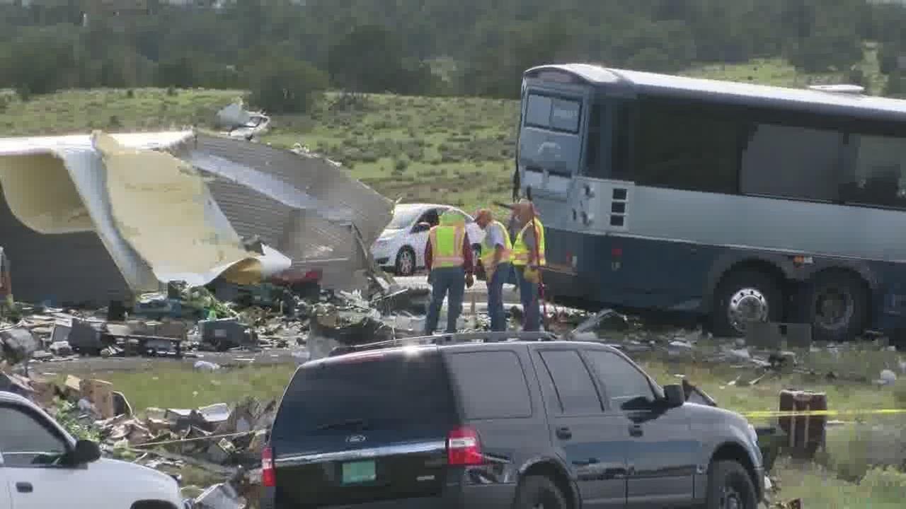 Ninth victim dies in I-40 semi, Greyhound crash