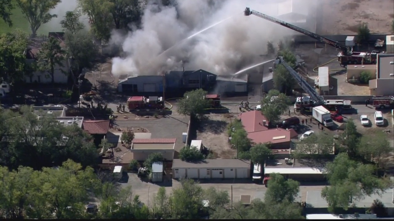 Cabinet business burns down in North Valley