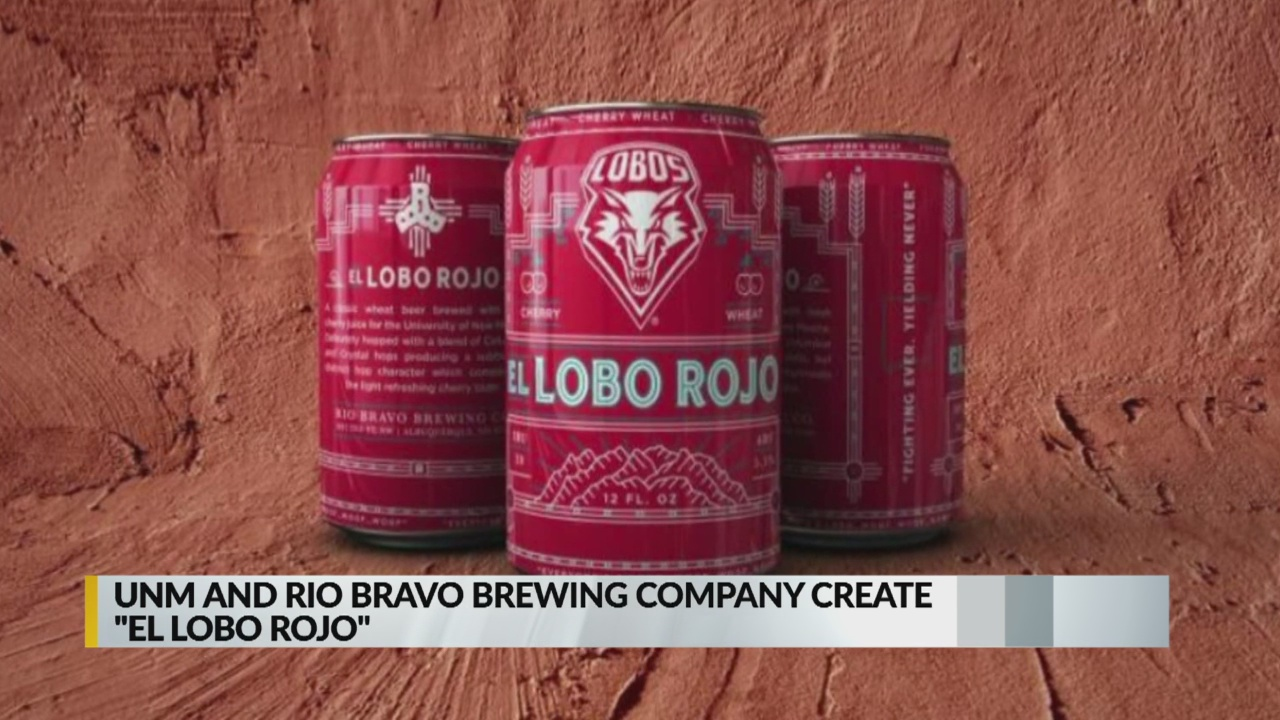 UNM, Rio Bravo Brewing announce 'El Lobo Rojo' beer_1541638194535.jpg.jpg