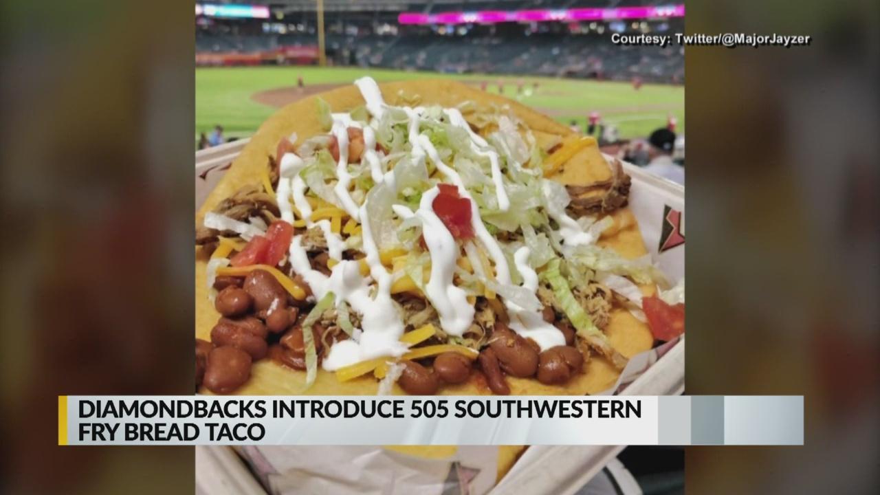 Arizona Diamondbacks selling 505 fry bread taco at Chase Field_1555398074486.jpg.jpg