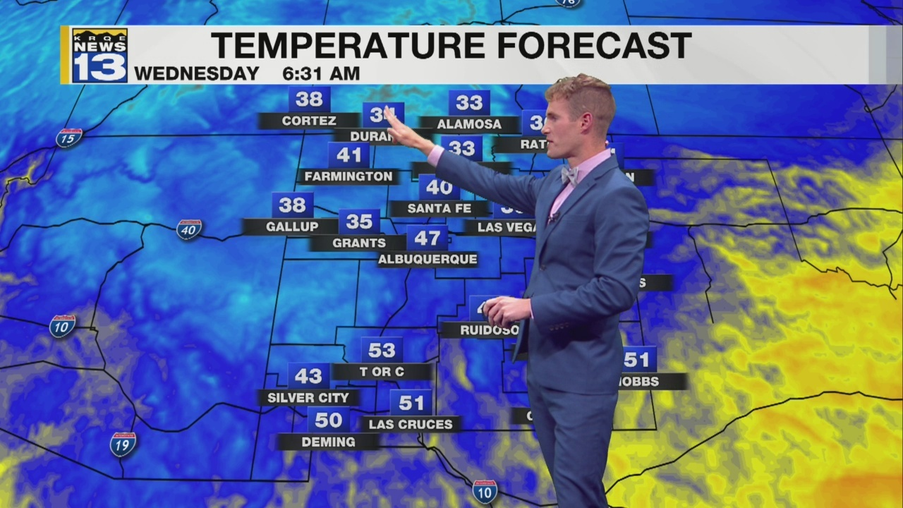 Christopher's Late Tuesday Afternoon Forecast