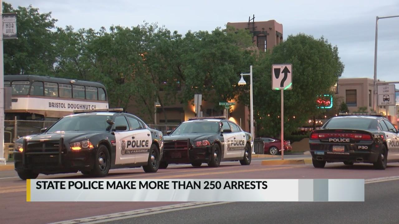 State Police make over 250 arrests in 'metro surge operation'_1558584301514.jpg.jpg