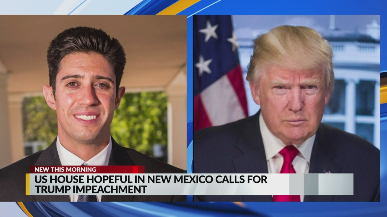 US House hopeful in New Mexico calls for Trump impeachment