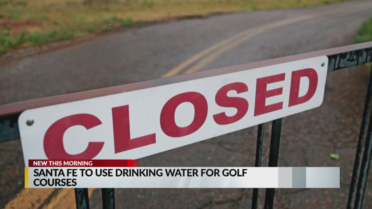 Drinking water temporarily used for Santa Fe golf courses | KRQE News 13