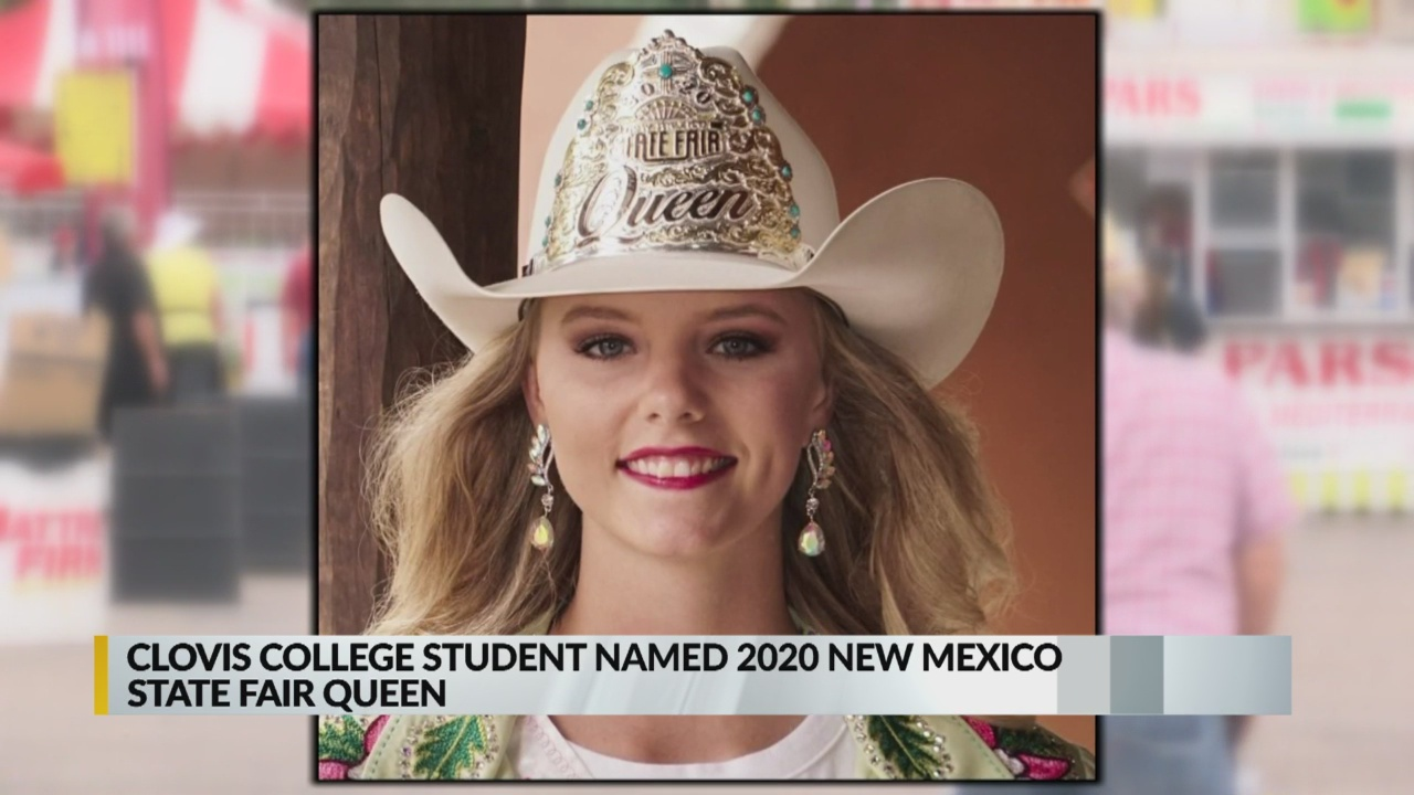 Clovis College Student Crowned State Fair Queen Krqe News 13