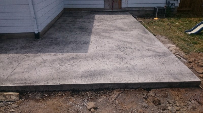 concrete shed pad past customers give