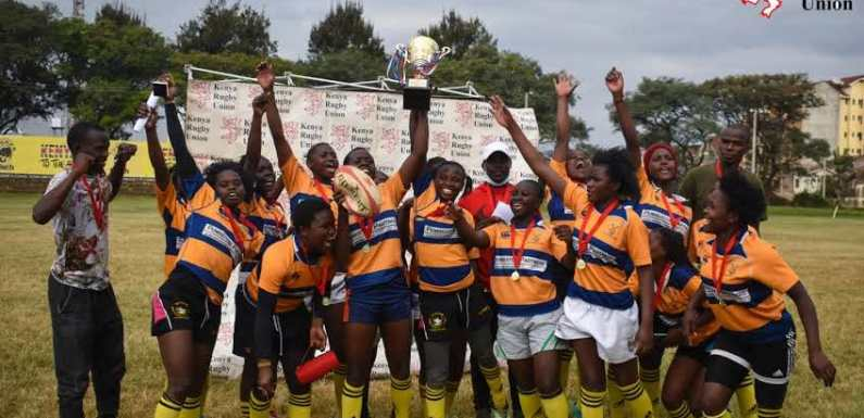 Ruckit win the third and final leg of the 2021 KRU Women's Festival