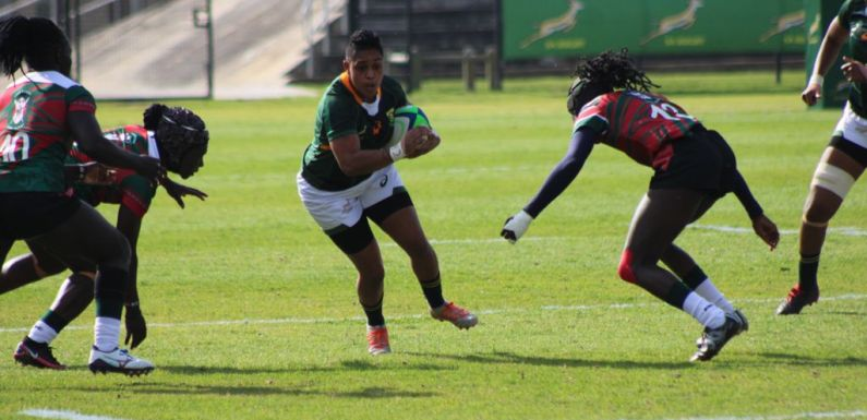 Gallant Lionesses hold their own against Springbok Women