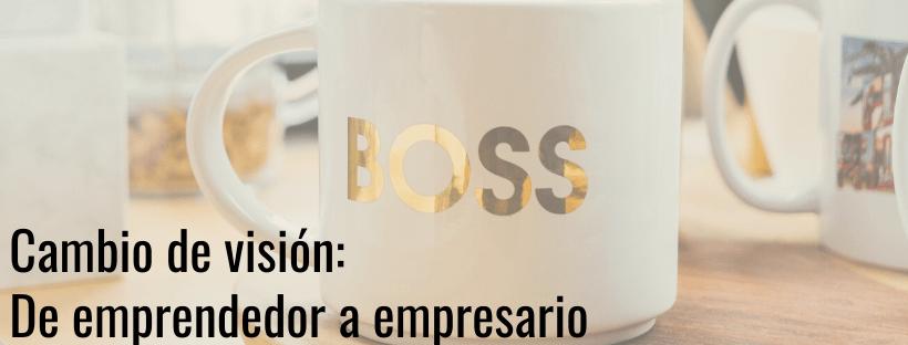 kruce de caminos / de emprendedor a empresario