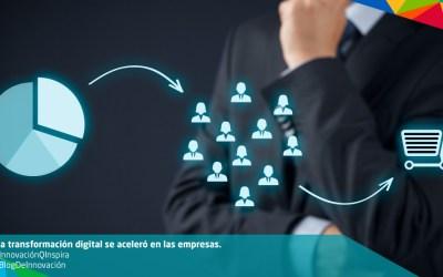 La transformación digital se aceleró en las empresas.