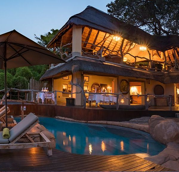 Jock Safari Lodge Private Pool Area