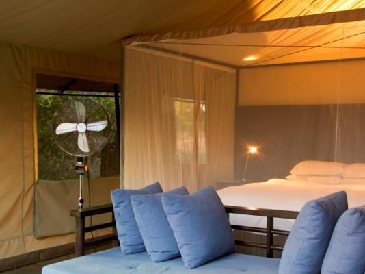 Khoka Moya Camp Tent Interior