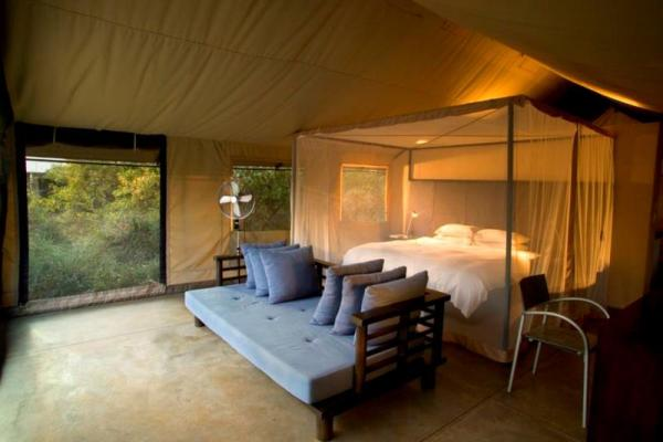 Khoka Moya Camp Tent Interior
