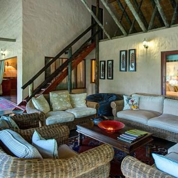 Tintswalo Manor House Lounge Area