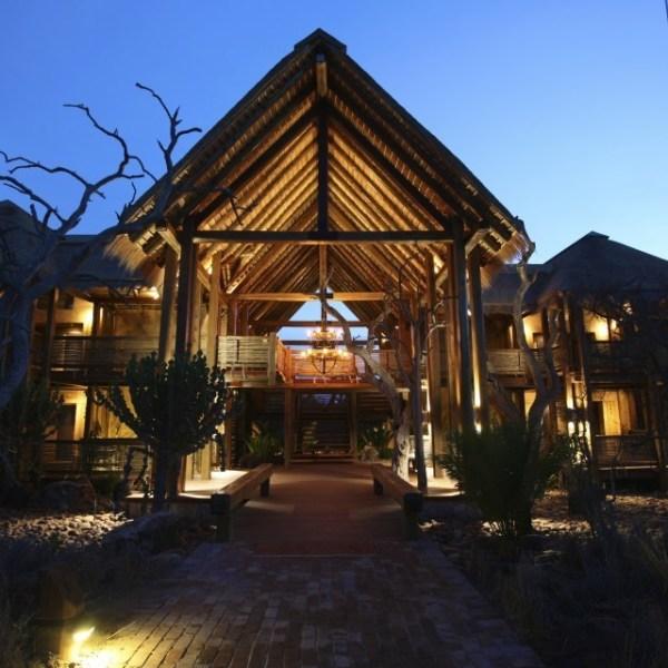 Kapama River Lodge Lodge Entrance View