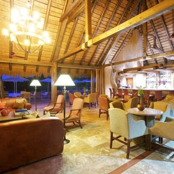 Kapama River Lodge Lounge Area View