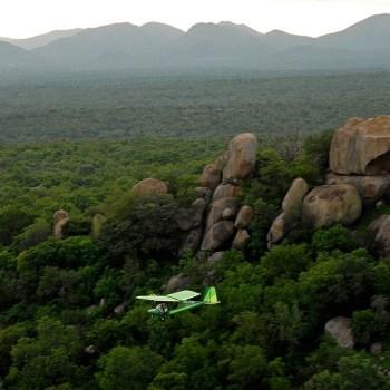 Manyatta Rock Camp Microlight Safaris
