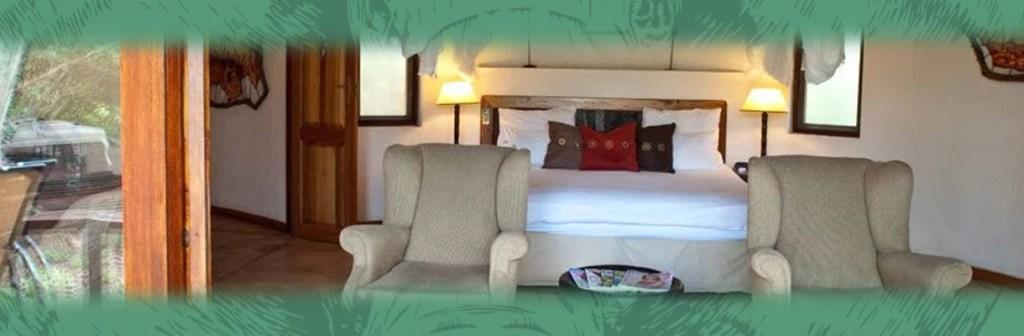Monwana Game Lodge Bedroom and Lounge