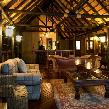 Shumbalala Game Lodge Lodge Lounge