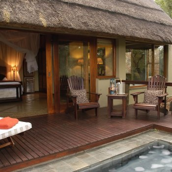 Thornybush Game Lodge Family Suite Deck