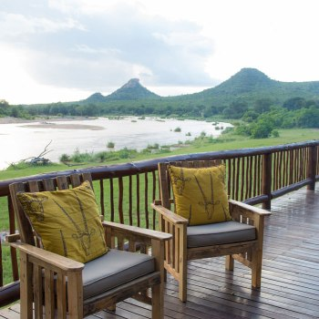 Sefapane River Lodge Deck Seating