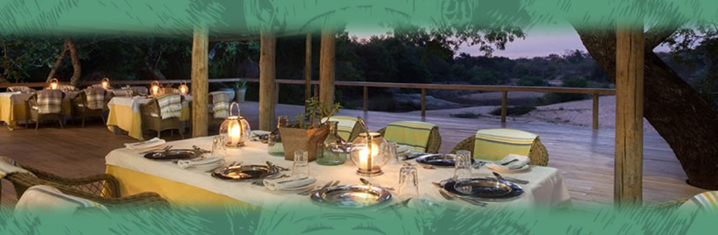 Thornybush Game Lodge Dinner Time