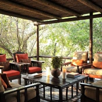Waterbuck Game Lodge Deck Lounge