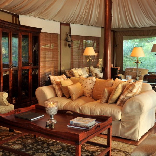 Hamiltons Tented Camp Lounge