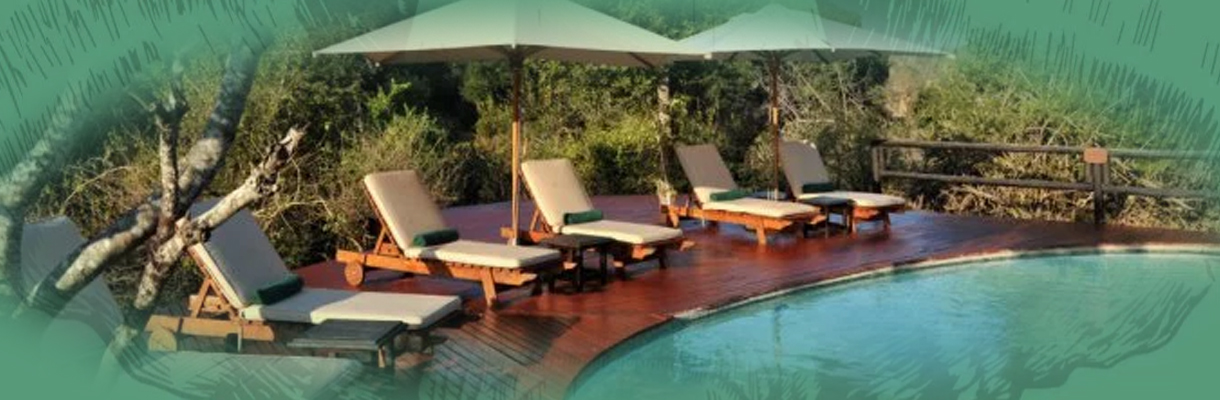 Hamiltons Tented Camp Pool Sitting Area